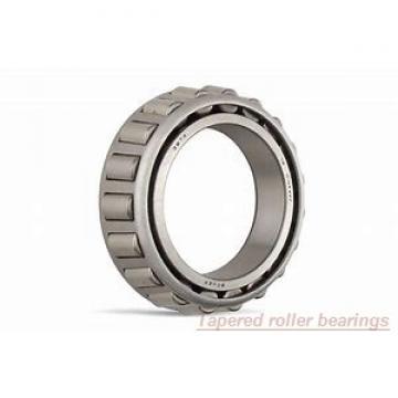 80 mm x 160 mm x 41 mm  ISO JW8049/10 Rodamientos De Rodillos Cónicos